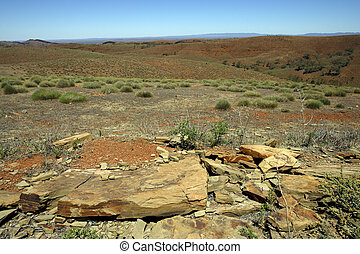 An image of the Australian Outback landscape.