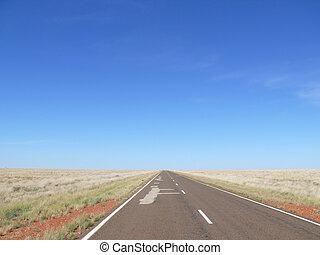 Australian outback.