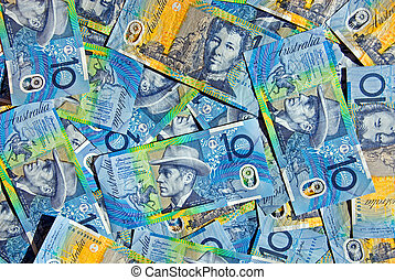 Australian Ten Dollar Notes