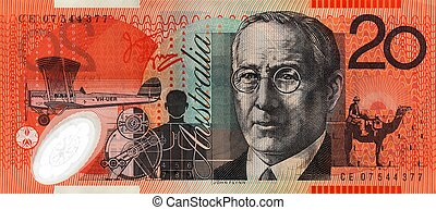 Australian Twenty Dollar Note - Australian twenty dollar...