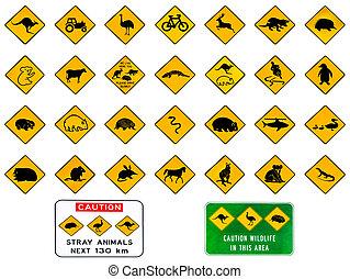 Australian warning signs