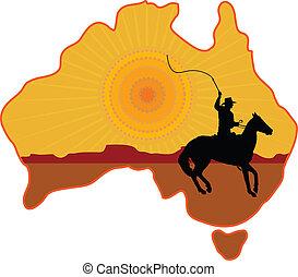 australiano, cavaliere