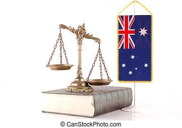 australiano, ley, y, orden