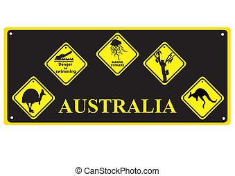 australiano, sinais