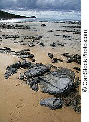 australie, île, fraser, -, exotique, unesco, plage