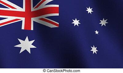 australie, drapeau, seamless, boucle