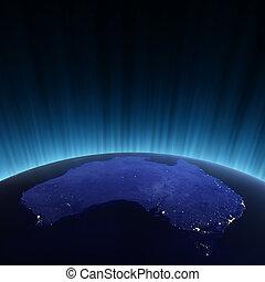 australie, espace