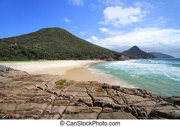 australie, unspoilt, vacances, stephens, time., port
