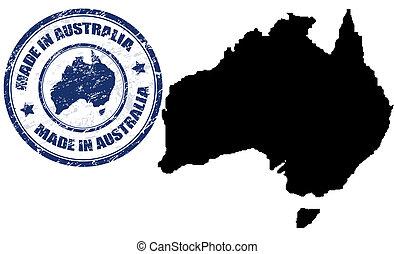 australien, gjord