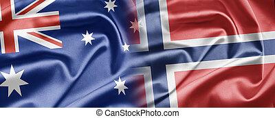 australien, norge