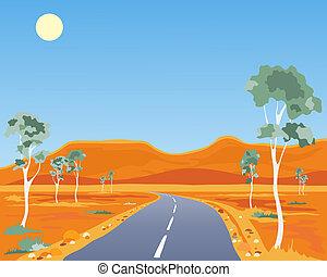 australien, paysage