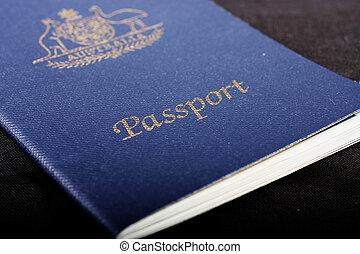 australier, pass