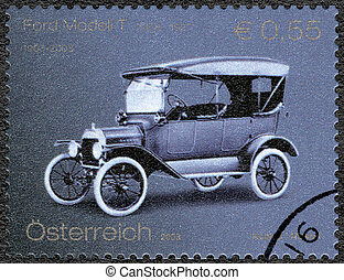 AUSTRIA - 2003: shows Ford Model T, Ford Motor Company ...