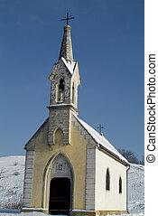 Austria, Calvary Church in Neusiedl am See