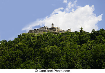 Austria, castle Landskron in Carinthia