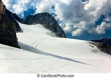 Austria Dachstein panorama