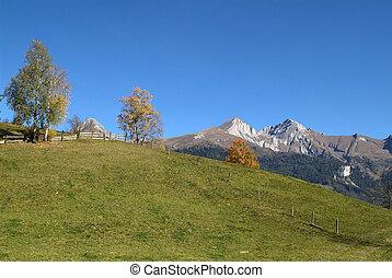 Austria, East-Tyrol - Austria, autumn landscape in Matrei...