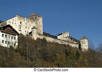 Austria, castle Heinfels in East-Tyrol