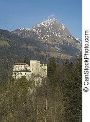 Austria, castle Weissenstein in Tauern valley