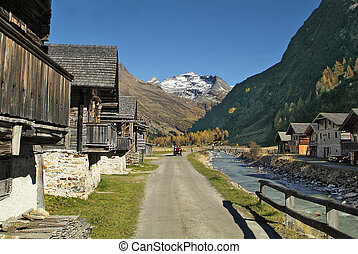 Austria, Gschloess valley in East Tyrol