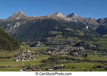 Austria, view over Matrei in East Tyrol