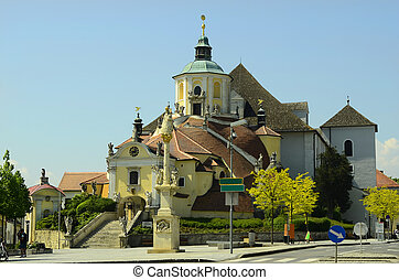 Austria, church Haydnkirche in Eisenstadt