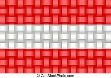 Austria Flag Background