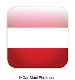 Austria flag button