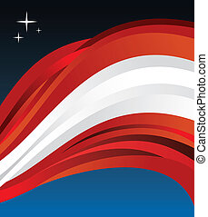 Austria flag illustration background