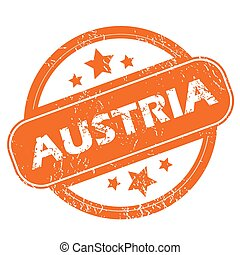 Austria grunge icon