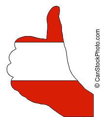 Austria hand signal