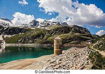 Austria Kaprun panorama