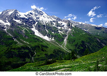 Austria Mountains - A panoramic view of beautifull Austrian...