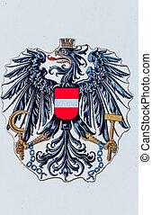 austria, national coat of arms - the austrian national coat...