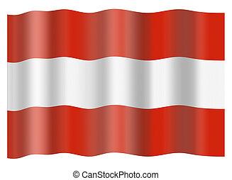 Austria national flag