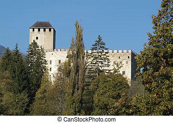 Austria, castle Bruck in Lienz in Osttirol