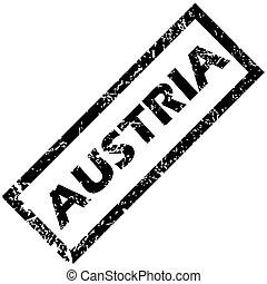 AUSTRIA rubber stamp