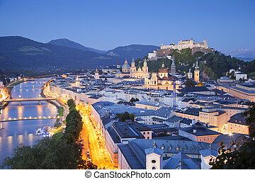austria., salisburgo