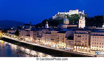 Austria, Salzburg, Hohensalzburg Fortress