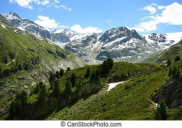Austria, Tirol, Kaunertal