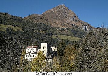 Austria, castle Weissenstein in the Tauern Valley
