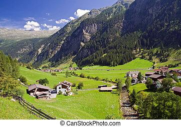 austria, villaggio
