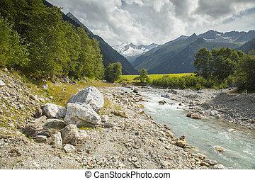 Austrian Alps landscape