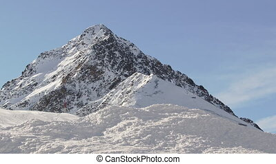 Austrian Alps Mountain Peak
