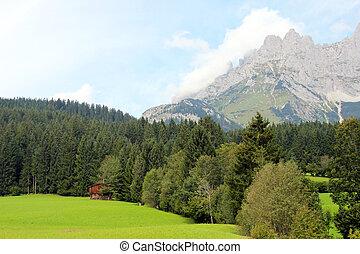 Austrian Alps, Wilder Kaiser mountains, Tirol