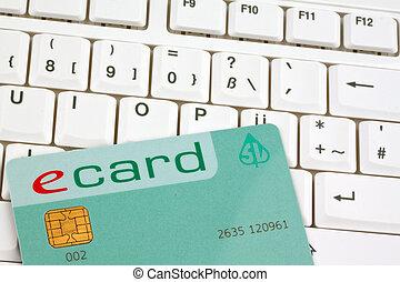 Austrian e-card (Health) - An e-card of the Austrian health...