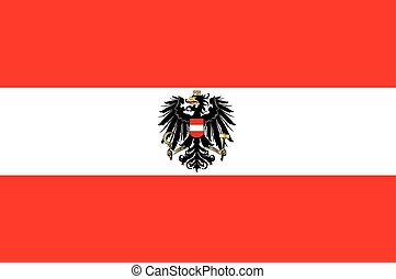 Austrian Flag and Coat of Arms