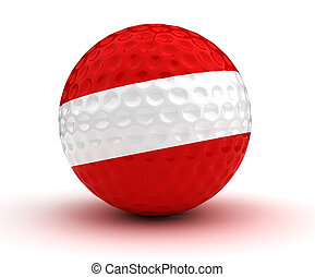 Austrian Golf Ball