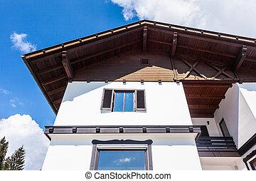 Austrian house facade