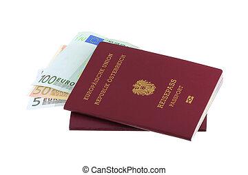 Austrian passports with Euro - Electronic Austrian passports...